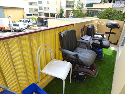 Nice Ouest - 2 Pieces 28m²